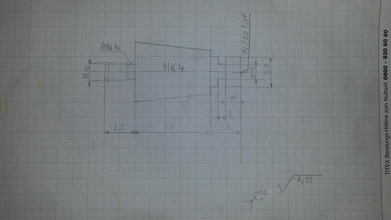 zerspanungsmechaniker drehteil auf der zeichnung verstehen probleme metall technisches. Black Bedroom Furniture Sets. Home Design Ideas