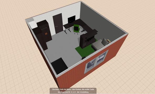 Ansicht 1   (Gaming, Wohnen, Zimmer)