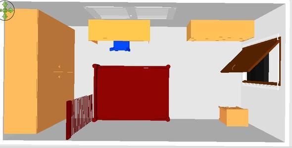 Blick von Oben - (Zimmer, Einrichtung)