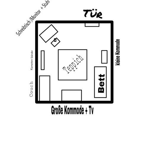 zimmer umstellung ideen m bel umstellen. Black Bedroom Furniture Sets. Home Design Ideas