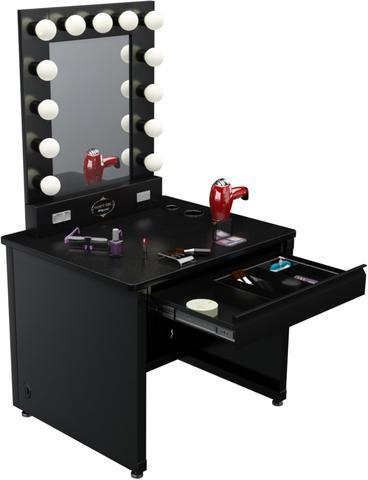 Zimmergestaltung Suche Frisiertisch Beauty Schminken Spiegel