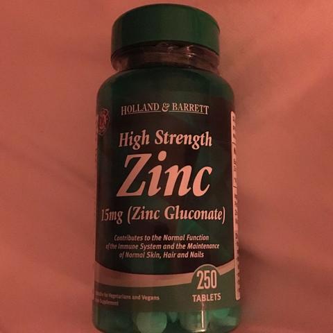 Zink tabletten - (Gesundheit und Medizin, Tabletten, Akne)