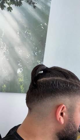 Mit zopf mann Männer Frisur