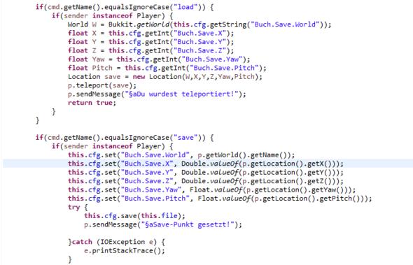 Problem-Screen - (Minecraft, programmieren, Plugin)