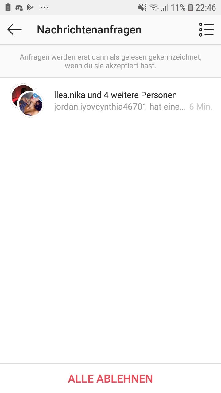 Wie Kann Ich Verhindern Dass Ich Einfach Zu Gruppen Hinzugefügt Werde Instagram