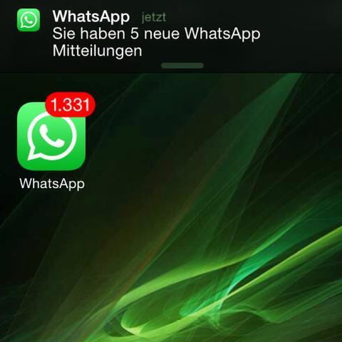 Zu Viele Whatsapp Nachrichten Schlecht Handy
