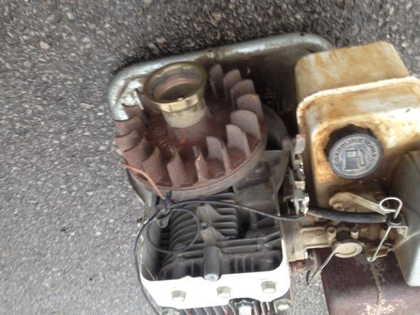 Schwungrad mit Kabel #1 - (verbrennungsmotor, Stromerzeugung, zuendspule)