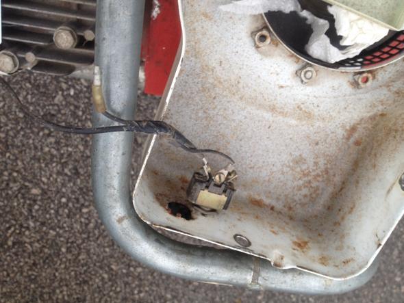 Schalter zum abstellen - (verbrennungsmotor, Stromerzeugung, zuendspule)