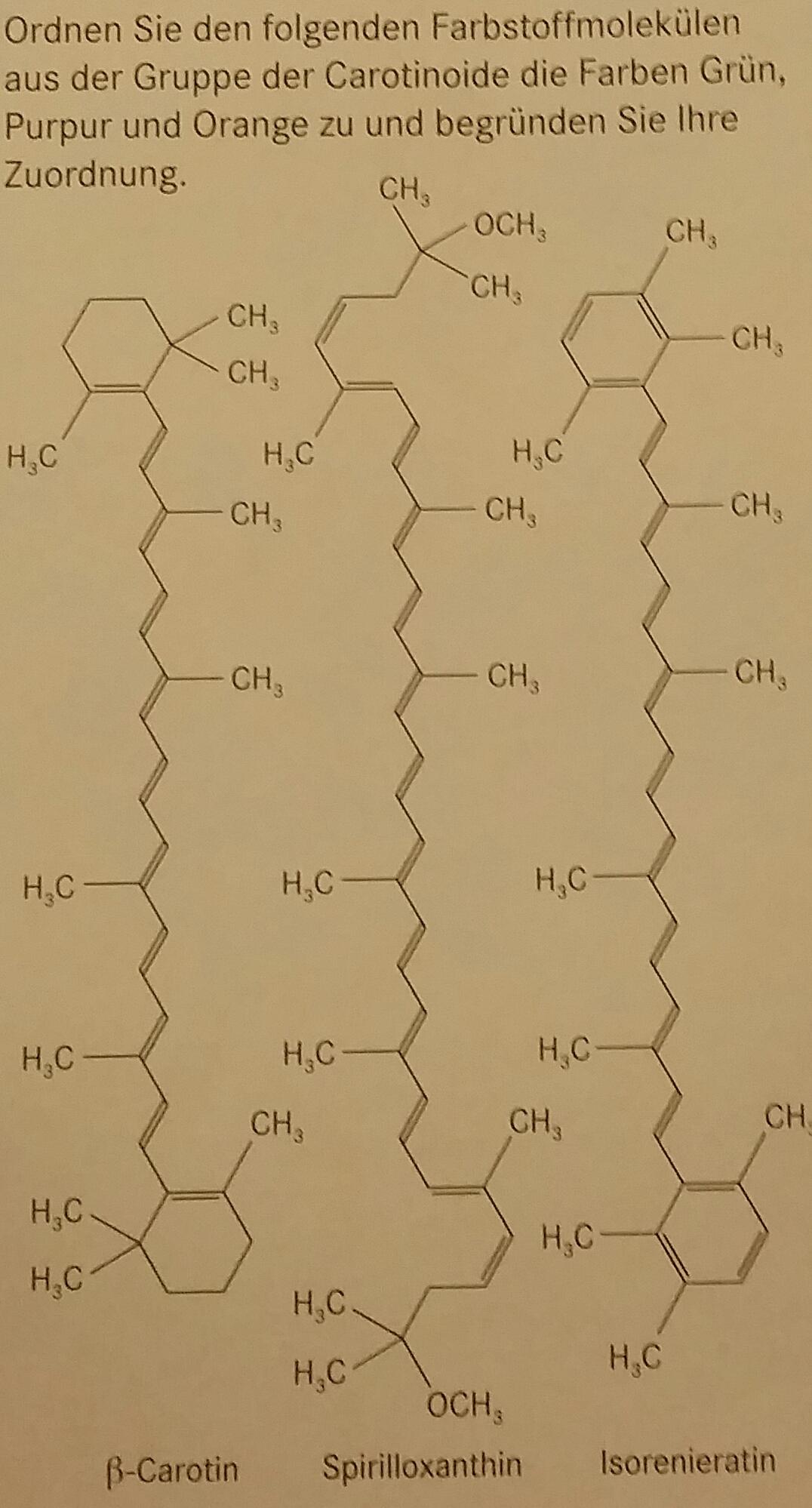 zusammenhang zwischen molek lstruktur und farbe chemie. Black Bedroom Furniture Sets. Home Design Ideas