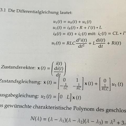 u2(t) gesucht..  - (Mathematik, Elektrotechnik, Verständnis)