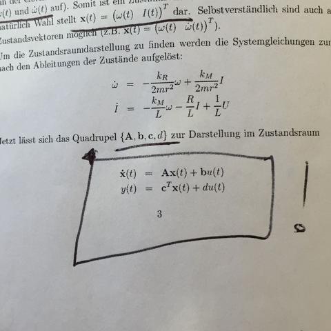 y(t) gesucht.. - (Mathematik, Elektrotechnik, Verständnis)