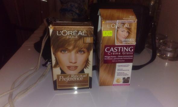 Haarfarben mischen braun und blond