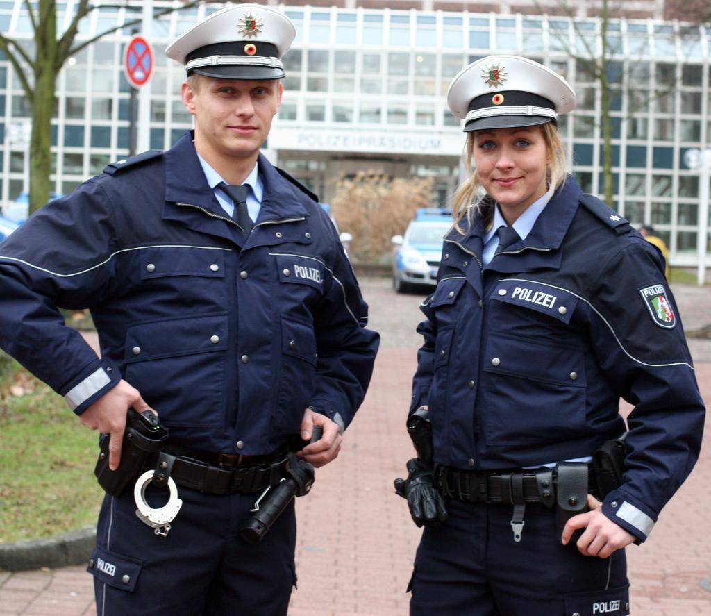 Neue Polizeiuniform