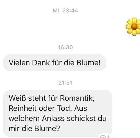 Zweideutige Spielerische Antwort Auf Text Von Freundin Liebe