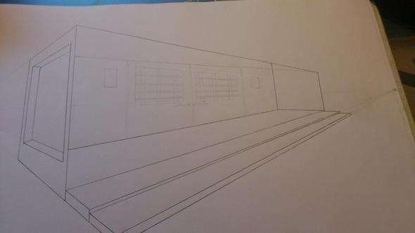 bild - (Kunst, zeichnen, Zeichnung)