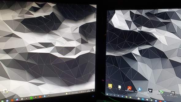 Zweiter monitor 1080p aber verschwommen?