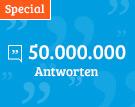50 Millionen Antworten - ein Meilenstein auf gutefrage.net