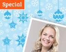 Weihnachtsgewinnspiel mit Eva Brenner