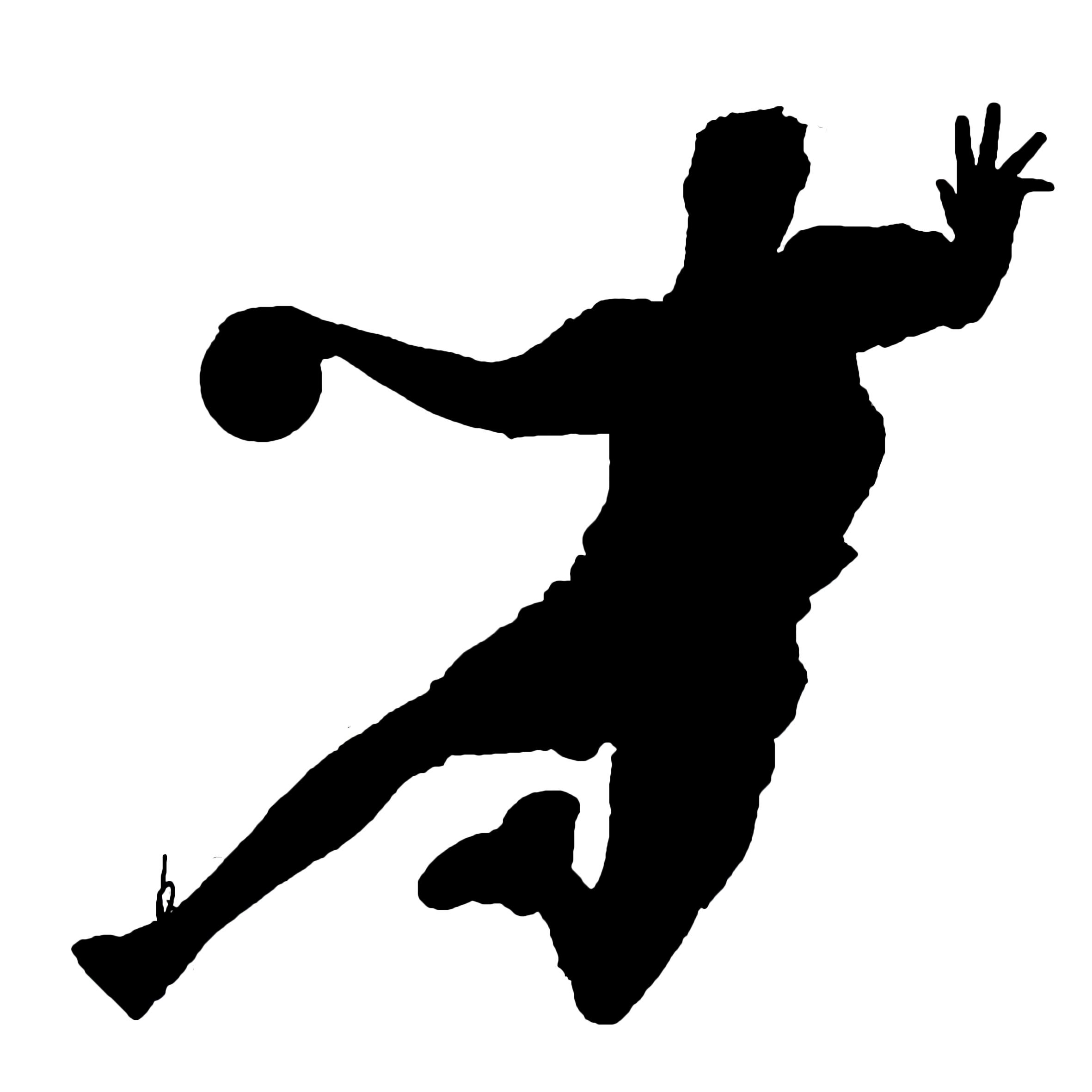 Bildergebnis für handball silhouette